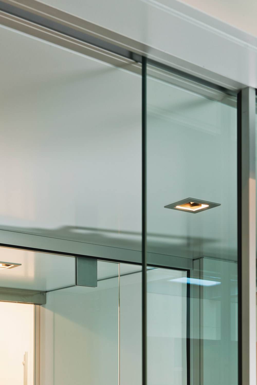 Schuifdeuren In Glas.Lauryssens Gamma Glazen Deuren